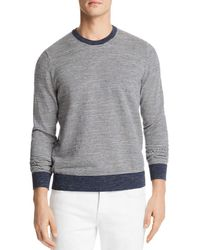 Bloomingdale's Mini-stripe Crewneck Sweatshirt - Multicolor