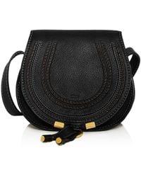 Chloé - Marcie Medium Leather Cross-Body Bag  - Lyst