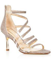 Imagine Vince Camuto Women's Roselle Glitter Strappy High - Heel Sandals - Metallic