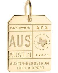 Jet Set Candy - Aus Austin Luggage Tag Charm - Lyst