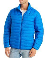 Hawke & Co. Packable Puffer Jacket - Blue