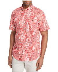 Vineyard Vines - Slim-fit At Sea Printed Short-sleeve Shirt - Lyst