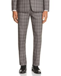 Theory - Marlo Tonal Check Plaid Slim Fit Suit Pants - Lyst