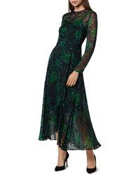 L.K.Bennett - Roe Dandelion Print Maxi Dress - Lyst