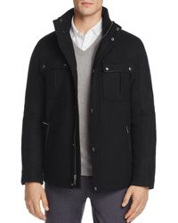 finest selection 1acb5 c26d9 Thom Browne Giacca Varsity In Melton Di Lana Con Maniche In ...