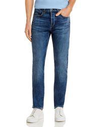Rag & Bone Fit 2 Slim Fit Jeans In Throop - Blue