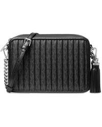 MICHAEL Michael Kors Jet Set Charm Medium Camera Bag - Black