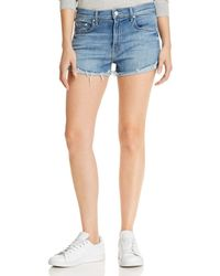 Mother - The Rascal Slit Flip Shorts In One Smart Cookie - Lyst