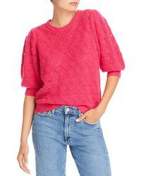 Joie Jenise Wool - Blend Pointelle Jumper - Pink