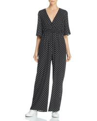 Lost + Wander - Starry Night Printed Jumpsuit - Lyst