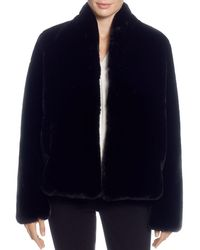 T Tahari - Faux-fur Jacket - Lyst