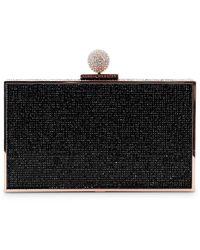 Sophia Webster Clara Crystal Box Clutch - Black