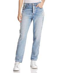 Pistola - '90s Roller Distressed High-rise Boyfriend Jeans In Feel It Still - Lyst