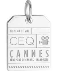 Jet Set Candy - Ceq Cannes Luggage Tag Charm - Lyst