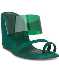 Whistles - Women's Limited Thayer Perspex Wedge Heel Sandals - Lyst