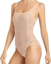 Item M6 All Mesh Shape Bodysuit - Natural