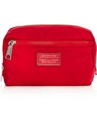 Rebecca Minkoff Nylon Cosmetic Case - Red