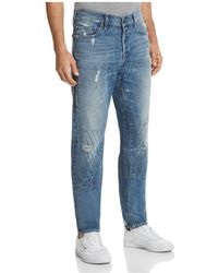 True Religion - Workwear Relaxed Fit Jeans In Faded Blue - Lyst