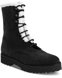 Andre Assous Women's Prisca Lace Up Booties - Black