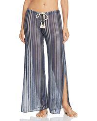 daa94ed36aa Becca - Pier Side Striped Swim Cover - Up Pants - Lyst