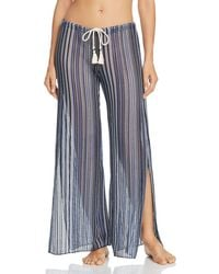 Becca - Pier Side Striped Swim Cover-up Trousers - Lyst