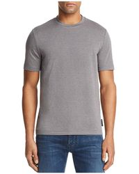 Emporio Armani - Patterned Tee - Lyst