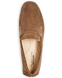 Bloomingdale's The Store At Bloomingdale's Penny Loafer Drivers - Brown