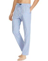 Lyst Polo Ralph Lauren Jersey Pajama Pants In Red For Men