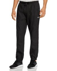 Alpha Industries Parachute Textured Taffeta Slim Fit Track Pants - Black