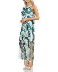 Vince Camuto - Jungle Palm Overlay Maxi Dress - Lyst