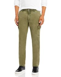 PAIGE Barlow Regular Fit Cargo Pants - Green