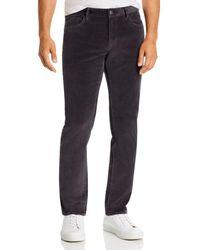 Michael Kors Parker Stretch Slim Fit Corduroy Pants - Multicolor
