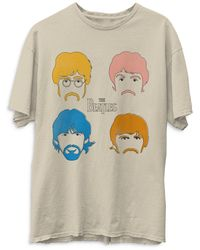 Junk Food The Beatles Faces Tee - Multicolour