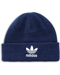 8834e4af859 Lyst - Adidas Originals Beanie in Blue for Men