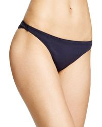 Stella McCartney - Smooth & Lace Thong - Lyst