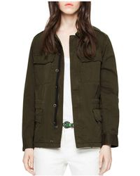 Zadig & Voltaire - Kayak Embroidered Parka - Lyst