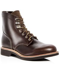 G.H.BASS - Men's Reid Leather Hiking Boots - Lyst