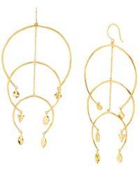 Gorjana - Luca Multi Arc Drop Earrings - Lyst