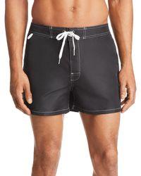 Sundek - Solid Low Rise Board Shorts - Lyst
