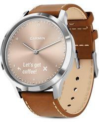 Garmin - Vivomove Hr Touchscreen Hybrid Smartwatch - Lyst