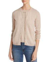 C By Bloomingdale's - Crewneck Cashmere Cardigan - Lyst
