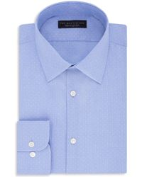 Bloomingdale's - Micro-dobby Regular Fit Dress Shirt - Lyst