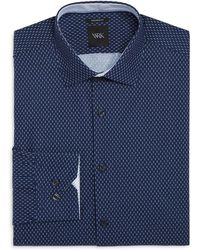 W.r.k. - Mini Matchstick Slim Fit Dress Shirt - Lyst