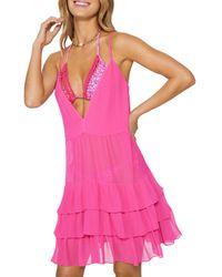 Ramy Brook - Lula Cover Up Dress - Lyst