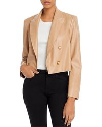Lucy Paris Double Breasted Textured Trench Coat