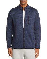 The Narrows - Sherpa-lined Fleece Zip Jacket - Lyst