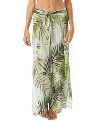 Vince Camuto Wrap - Tie Swim Cover - Up Trousers - Green