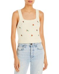 English Factory Embroidered Jumper Tank - Multicolour
