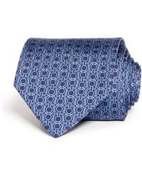 Ferragamo - Icona Gancini Classic Silk Tie - Lyst