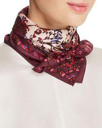 Echo - Paisley Print Silk Scarf - Lyst